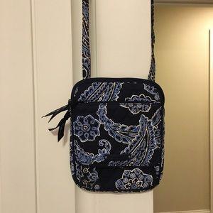 vera bradley cross body bag and wallet set